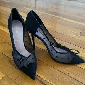 Kate Spade | Brand New | Black Transparent Heels